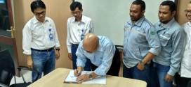 Penandatanganan PKB PT Meratus Jaya Iron & Steel (PT MJIS)